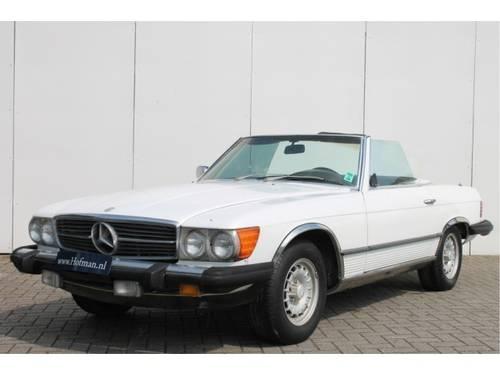 1981 Mercedes-Benz SL-Klasse 380 SL For Sale (picture 1 of 6)