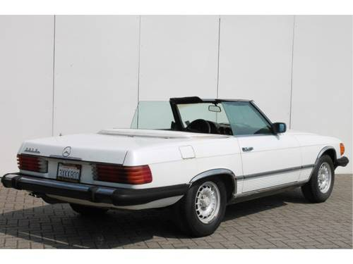 1981 Mercedes-Benz SL-Klasse 380 SL For Sale (picture 2 of 6)
