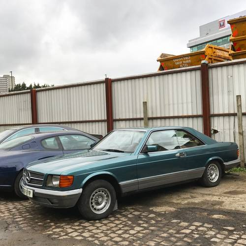 1984 Mercedes Benz 380 SEC W126 Project SOLD (picture 1 of 4)