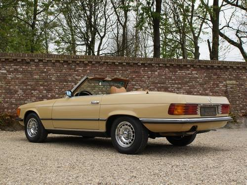 1973 Mercedes Benz 450SL only 134.158 miles!! For Sale (picture 2 of 6)