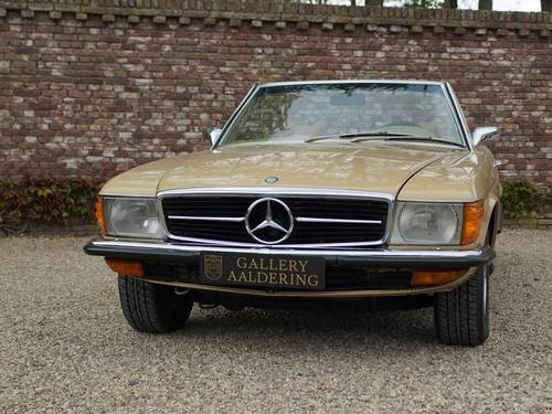 1973 Mercedes Benz 450SL only 134.158 miles!! For Sale (picture 5 of 6)