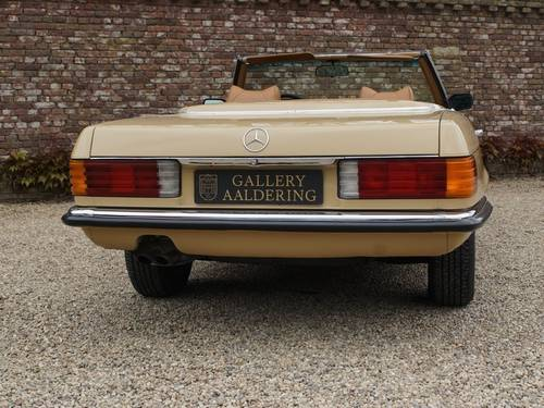 1973 Mercedes Benz 450SL only 134.158 miles!! For Sale (picture 6 of 6)