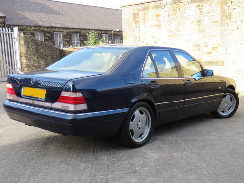 1998 Mercedes W140 S280 Auto  89K - FSH - 2 Owners - Superb SOLD (picture 2 of 6)