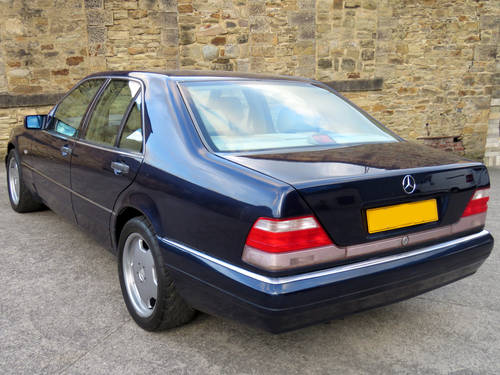 1998 Mercedes W140 S280 Auto  89K - FSH - 2 Owners - Superb SOLD (picture 4 of 6)