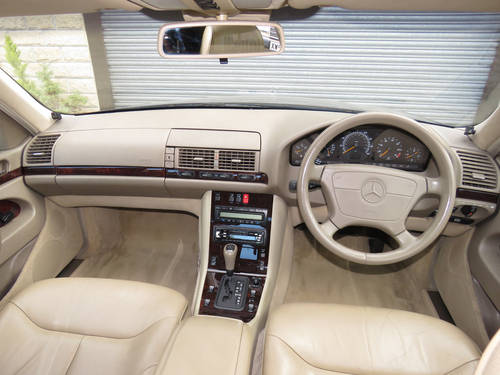 1998 Mercedes W140 S280 Auto  89K - FSH - 2 Owners - Superb SOLD (picture 5 of 6)