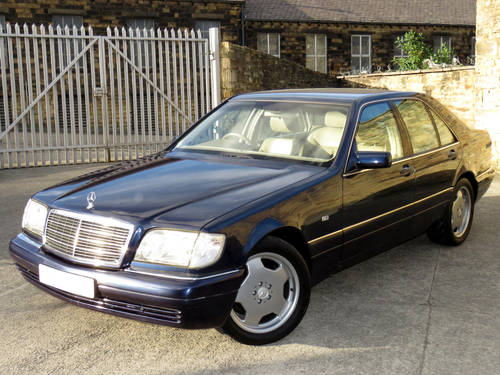 1998 Mercedes W140 S280 Auto  89K - FSH - 2 Owners - Superb SOLD (picture 1 of 6)