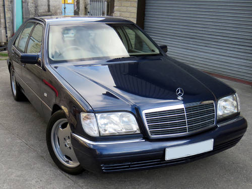 1998 Mercedes W140 S280 Auto  89K - FSH - 2 Owners - Superb SOLD (picture 3 of 6)
