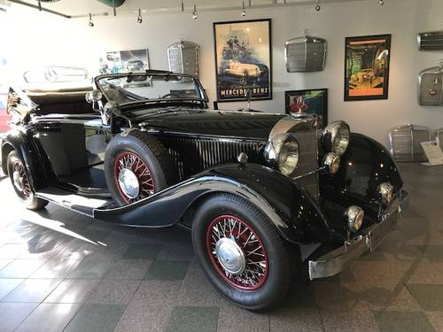 1934 Mercedes-Benz 380K Cabriolet - SuperCharged For Sale (picture 1 of 5)
