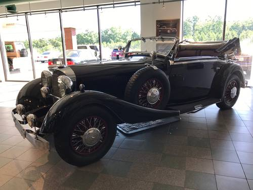 1934 Mercedes-Benz 380K Cabriolet - SuperCharged For Sale (picture 2 of 5)