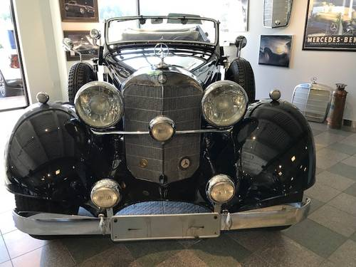 1934 Mercedes-Benz 380K Cabriolet - SuperCharged For Sale (picture 3 of 5)