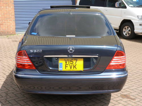 1999 Mercedes Benz S320 3.2i Auto  For Sale (picture 6 of 6)