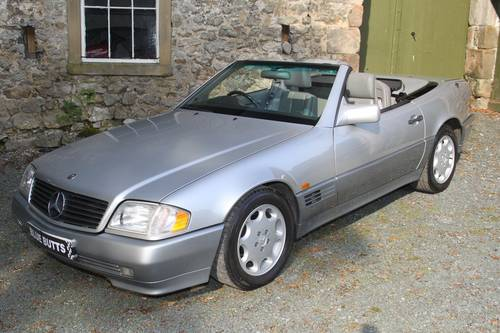 1994 Mercedes Benz SL280 Automatic SOLD (picture 2 of 6)