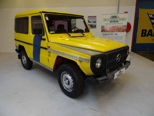 1985 Mercedes-Benz 230 G wagon only 3187 Km SOLD (picture 1 of 6)