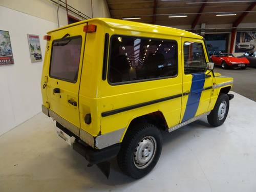 1985 Mercedes-Benz 230 G wagon only 3187 Km SOLD (picture 3 of 6)