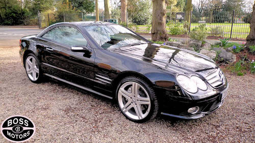 2008 Mercedes SL 5.5 V8 Sport Black Convertible SL 550 SL500 SL55 For Sale (picture 6 of 6)