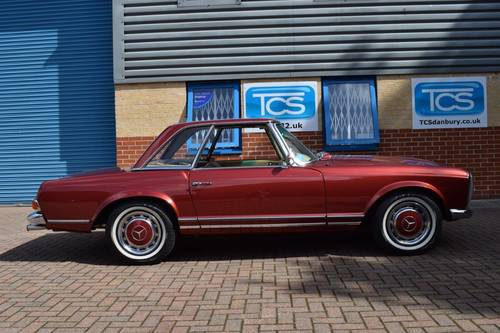 1967 Mercedes 250SL Automatic Pagoda Roadster Softtop SOLD (picture 3 of 6)