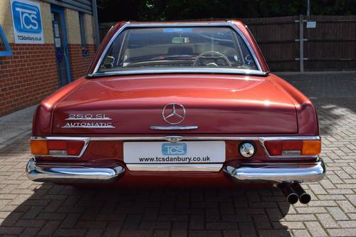 1967 Mercedes 250SL Automatic Pagoda Roadster Softtop SOLD (picture 5 of 6)