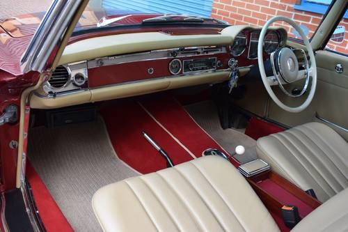 1967 Mercedes 250SL Automatic Pagoda Roadster Softtop SOLD (picture 6 of 6)