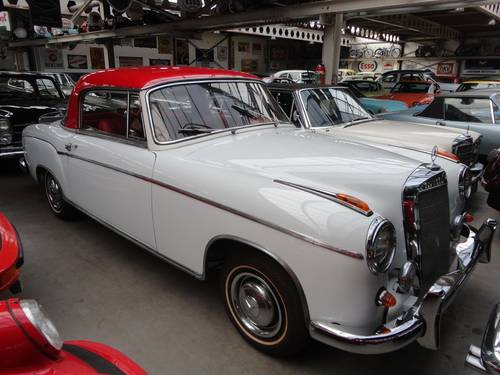 1958 Mercedes 220S coupé For Sale (picture 1 of 6)
