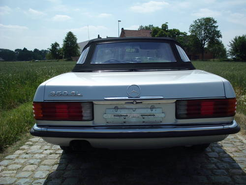 1971 Mercedes 350 SL (19500 euro) For Sale (picture 6 of 6)