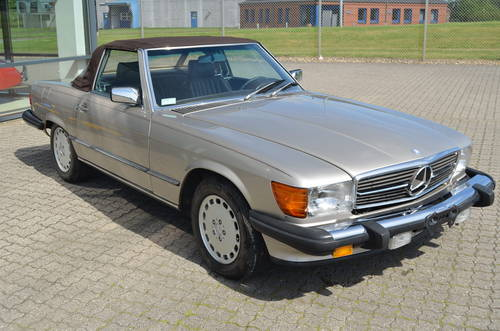 1988 Mercedes 560 SL Cabrio 5,5 Aut.  SOLD (picture 2 of 6)
