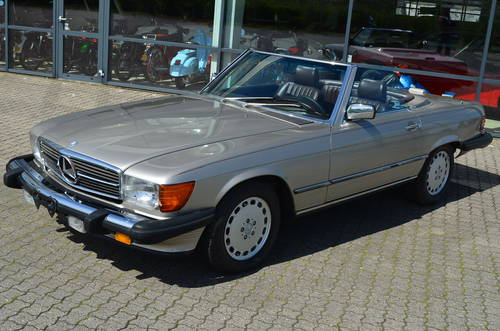 1988 Mercedes 560 SL Cabrio 5,5 Aut.  SOLD (picture 5 of 6)