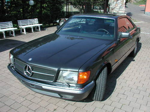 1984 Merceds Benz 500 SEC For Sale (picture 1 of 6)
