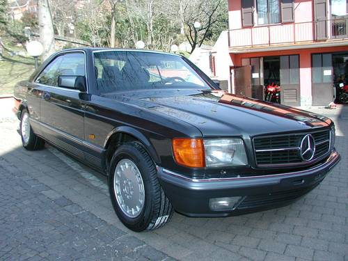 1984 Merceds Benz 500 SEC For Sale (picture 3 of 6)