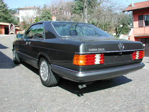 1984 Merceds Benz 500 SEC For Sale (picture 4 of 6)