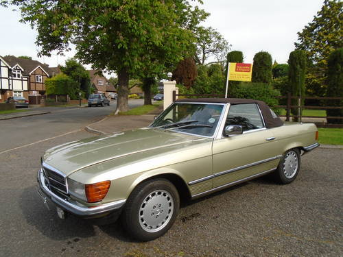 Mercedes 380 SL   1982 Auto/ Pas  Hard & Soft Tops  SOLD (picture 2 of 6)
