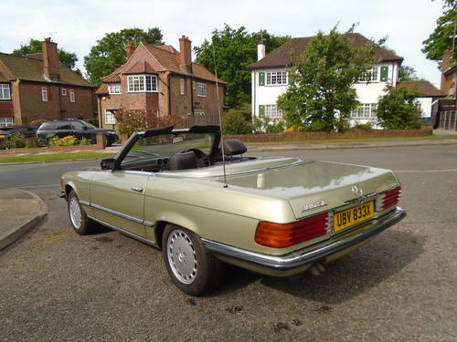 Mercedes 380 SL   1982 Auto/ Pas  Hard & Soft Tops  SOLD (picture 3 of 6)