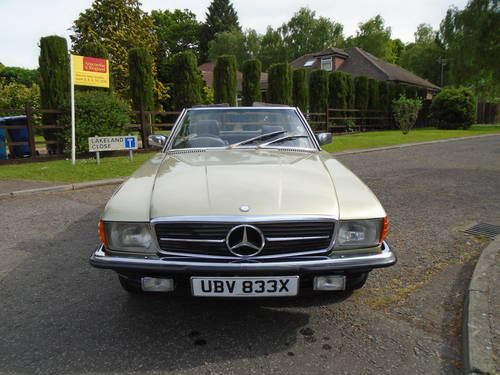 Mercedes 380 SL   1982 Auto/ Pas  Hard & Soft Tops  SOLD (picture 5 of 6)