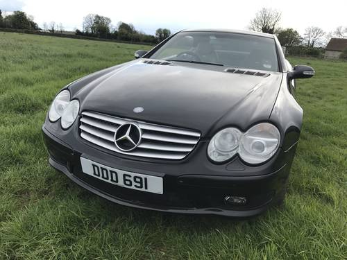 2002 Mercedes SL55 AMG for sale by auction June 17th SOLD by Auction (picture 2 of 6)