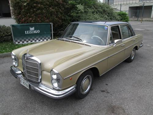 1970 Mercedes Benz - 280 S (W108) MATCHING NUMBERS SOLD (picture 1 of 6)