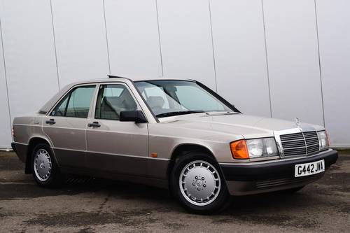 1989 MERCEDES BENZ 190E 2.0 Auto- Only 49798 Miles SOLD (picture 1 of 6)