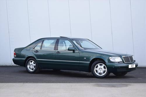 1997 MERCEDES-BENZ S600 V12 LWB Saloon-Only 67000 Miles SOLD (picture 1 of 6)