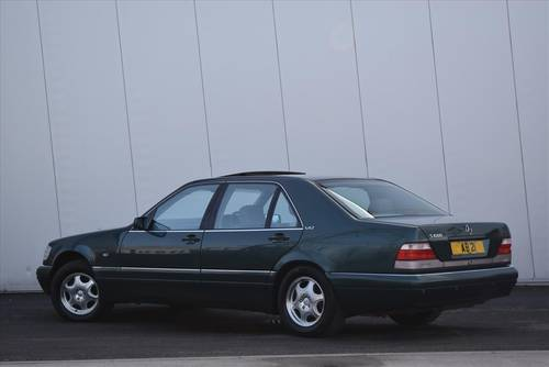 1997 MERCEDES-BENZ S600 V12 LWB Saloon-Only 67000 Miles SOLD (picture 3 of 6)