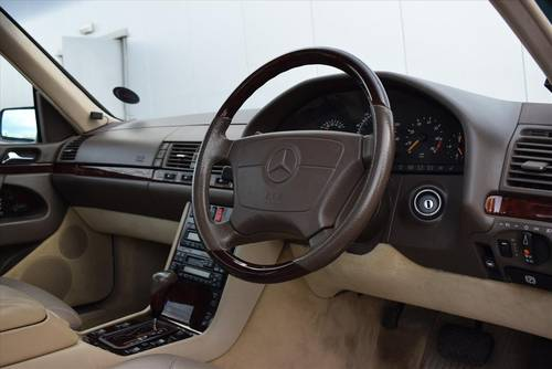 1997 MERCEDES-BENZ S600 V12 LWB Saloon-Only 67000 Miles SOLD (picture 5 of 6)
