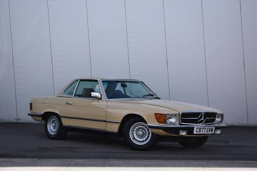 1985 Mercedes 380SL Auto (Hard & Soft Top) For Sale (picture 1 of 6)