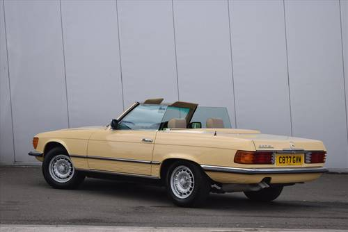 1985 Mercedes 380SL Auto (Hard & Soft Top) For Sale (picture 2 of 6)