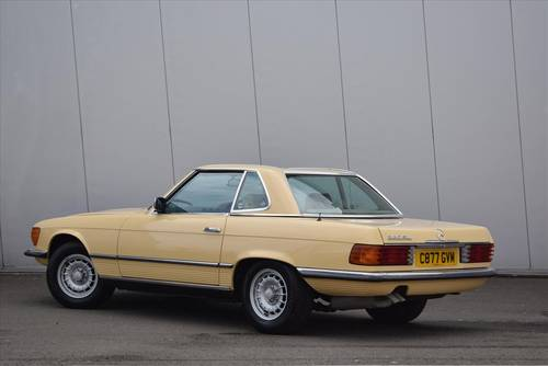 1985 Mercedes 380SL Auto (Hard & Soft Top) For Sale (picture 3 of 6)