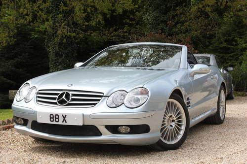 2002 MERCEDES SL55 AMG ONLY 23,000 MILES SOLD (picture 1 of 1)