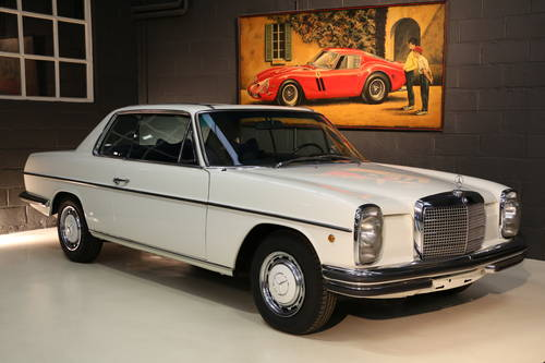 LHD 1970 MERCEDES 250c Concours and Matching For Sale (picture 1 of 6)