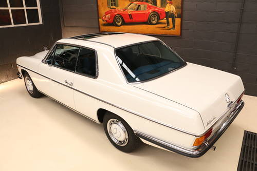 LHD 1970 MERCEDES 250c Concours and Matching For Sale (picture 2 of 6)