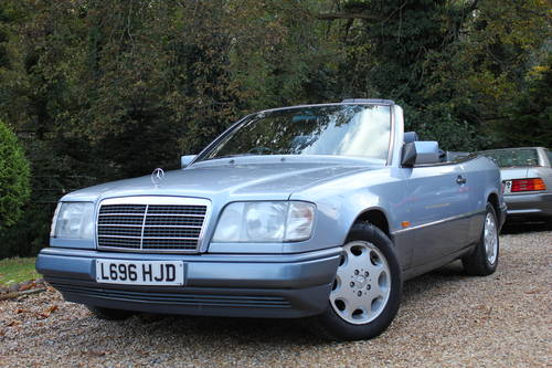 1994 MERCEDES E220 CONVERTIBLE SOLD (picture 1 of 1)