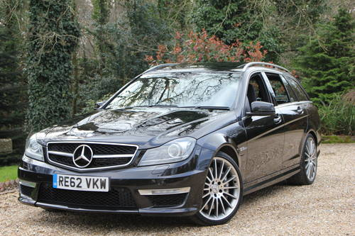 2012 MERCEDES C63 AMG ESTATE SOLD (picture 1 of 1)
