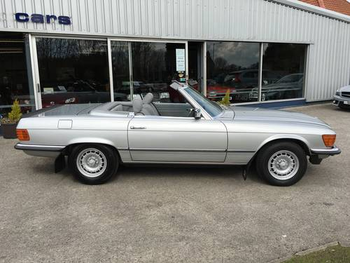 1984 MERCEDES 280SL 107 SERIES ROADSTER WITH HARD TOP For Sale (picture 1 of 6)