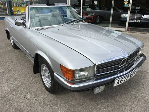 1984 MERCEDES 280SL 107 SERIES ROADSTER WITH HARD TOP For Sale (picture 5 of 6)