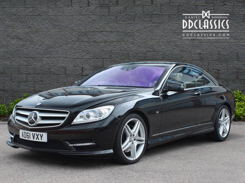 2012 Mercedes CL500 Blue Efficiency 4.7 RHD SOLD (picture 1 of 6)