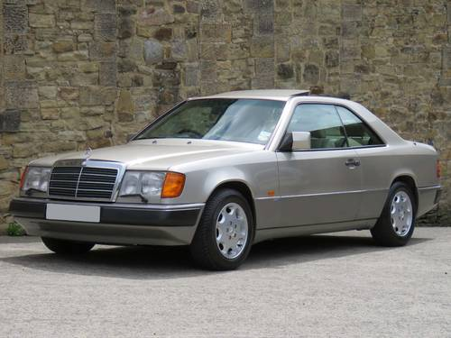 1991 Mercedes W124 300CE Sportline Coupe Auto 75K - FSH - Immac. SOLD (picture 1 of 6)